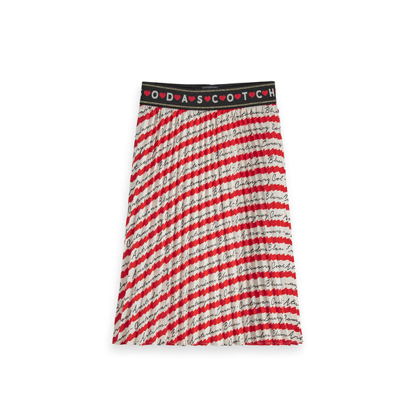 Girls Pleated Plisse Skirt - il Bambino Store