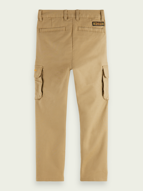 Boys Loose Tapered Fit Cargo Pants - Il Bambino Store