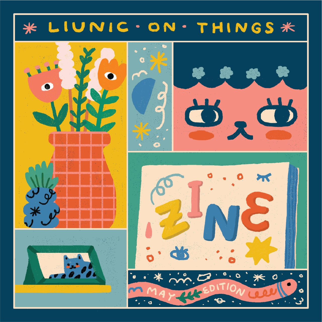 Liunic on Things May Zine!