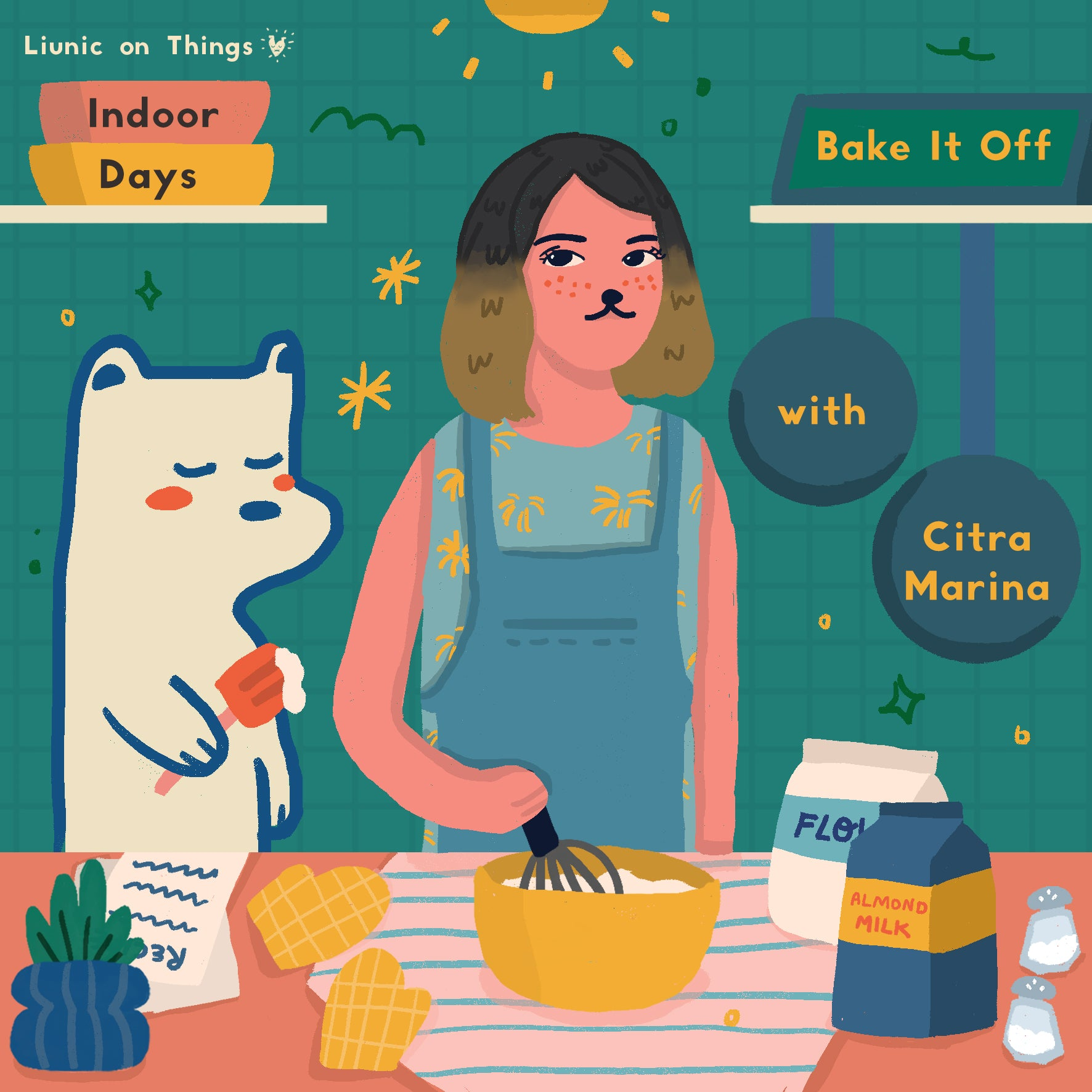 Indoor Days: Bake it Off with Citra Marina