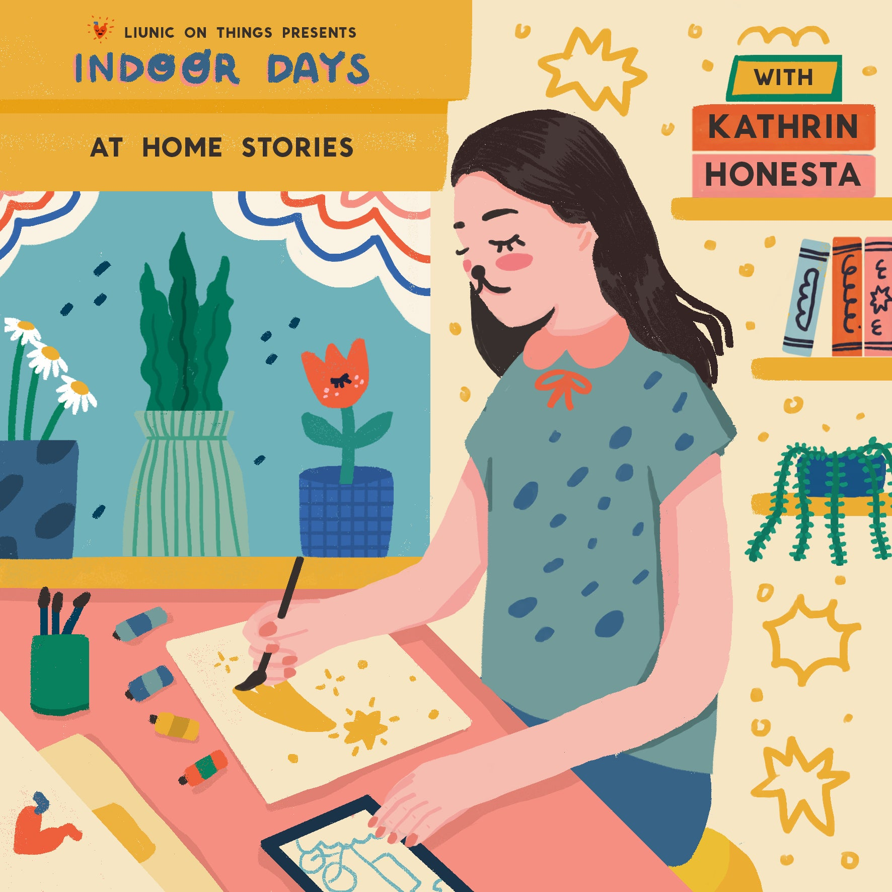 Indoor Zine : At Home Stories with Kathrin Honesta