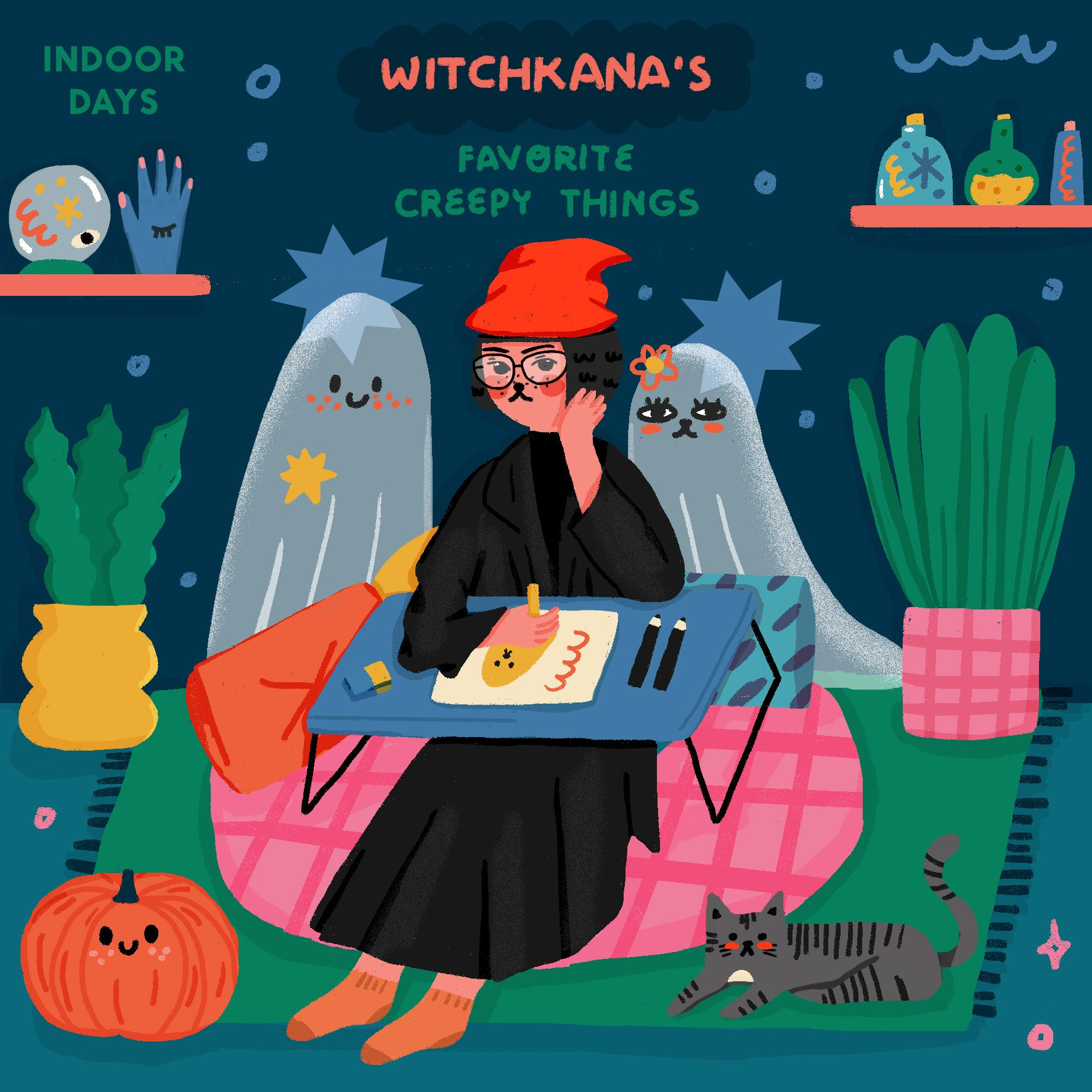 Indoor Days: Witchkana's Favorite Creepy Things!