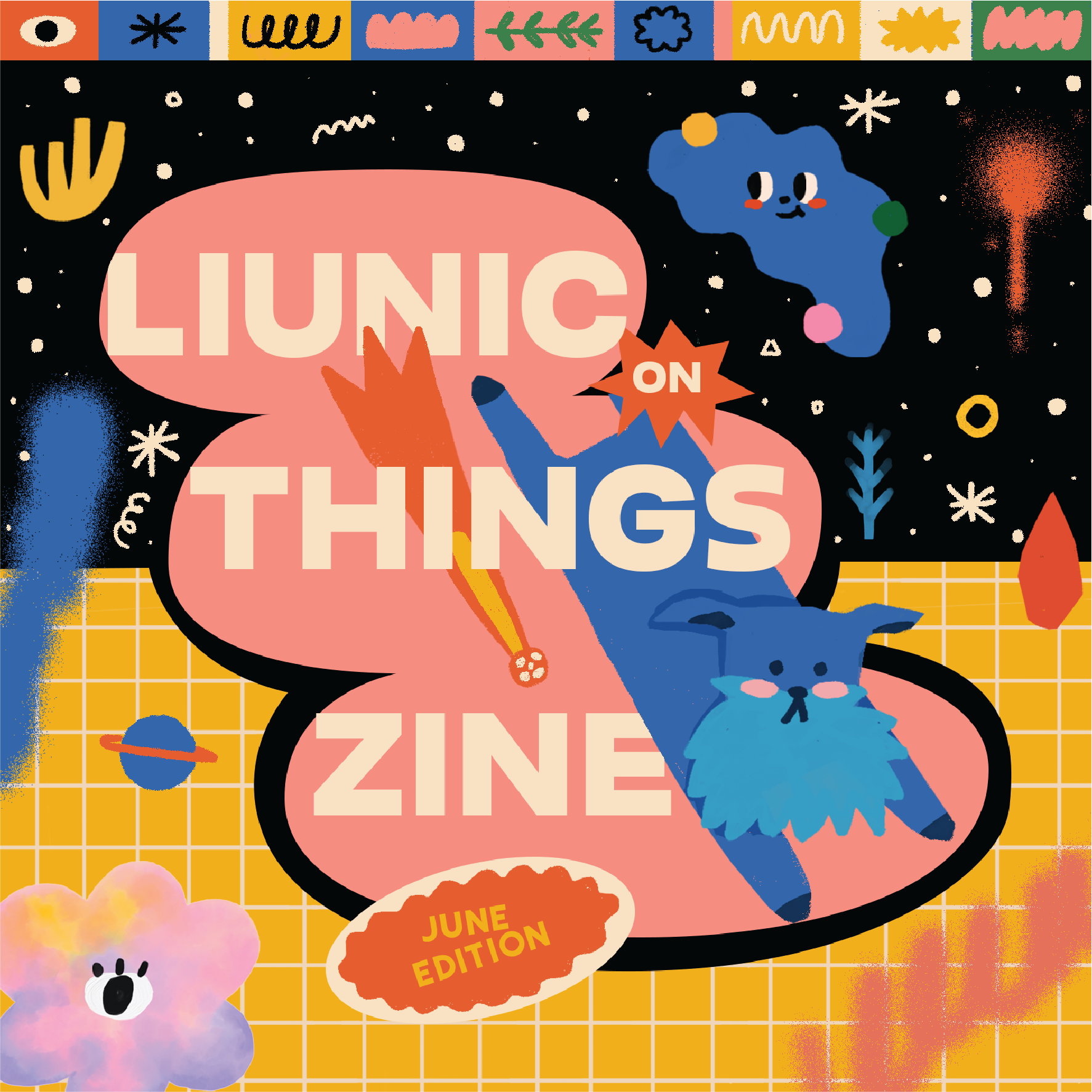 Liunic on Things June Zine
