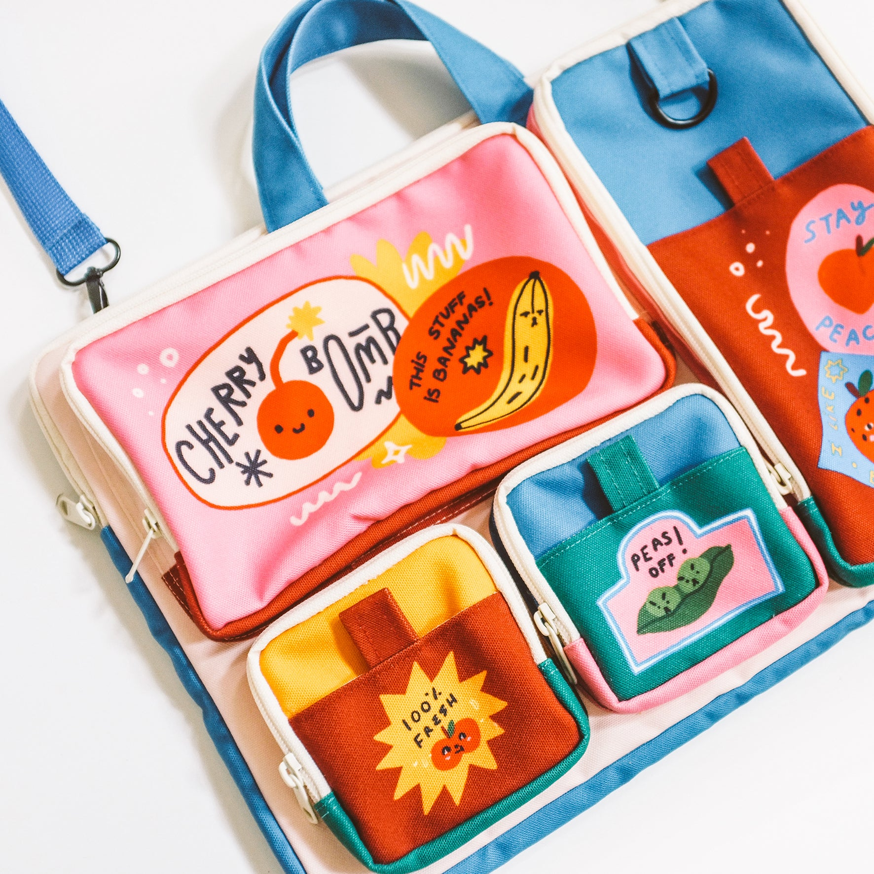 Fruit Pops Laptop Bag