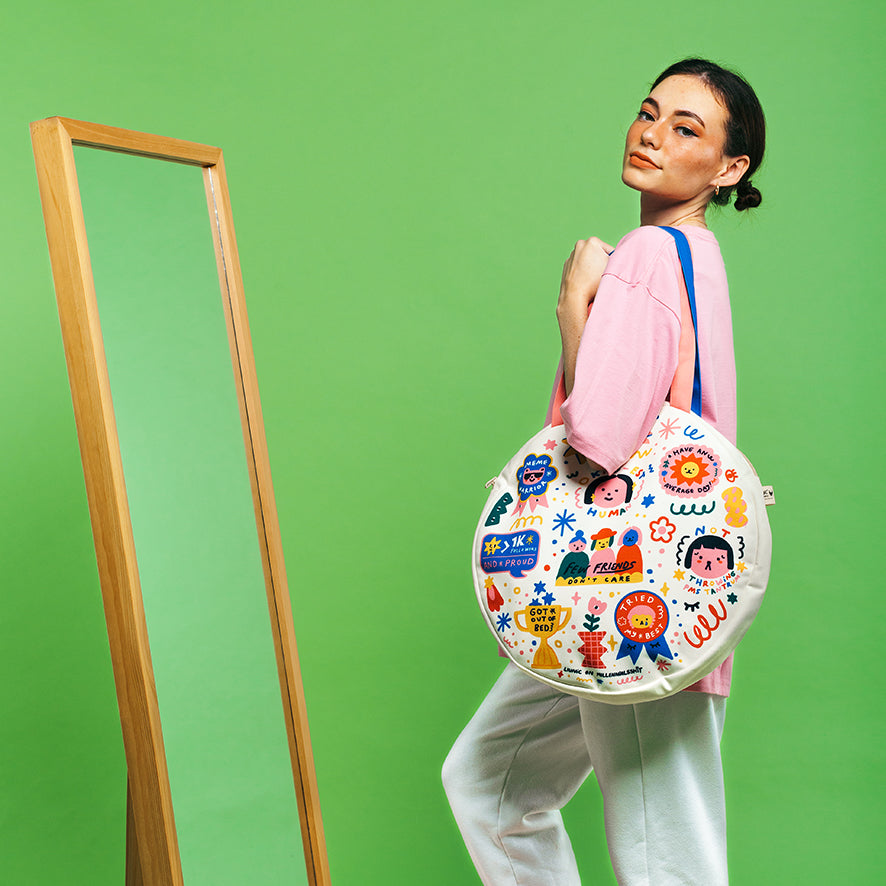 Liunic On Millennialsshit: Your Average Day Totebag