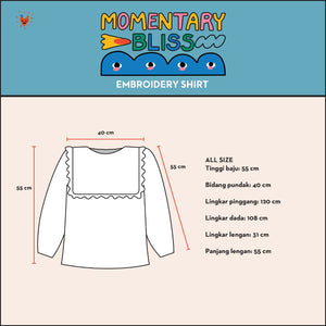 Momentary Bliss Embroidery Shirt