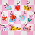 Liunic on Things Keychains
