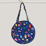 Sugar and Spice Round Totebag