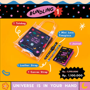 Liunic on Woodka: Universe In Your Hands Bundle Package