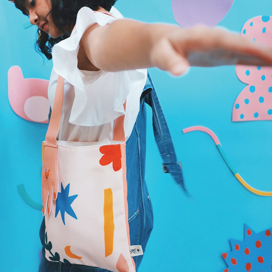 Hold My Hand Totebag