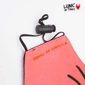 Liunic on Things Cotton Mask Bundle of 4 EARLOOP (First Collection)