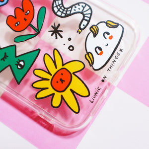 Peculiar Garden Iphone Case