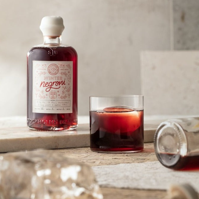 Stockholms Bränneri Negroni Winter Edition 2020 - 500ml