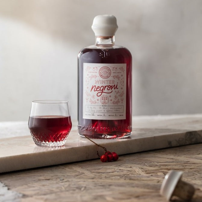 Stockholms Bränneri Negroni Winter Edition 2020/21 - 500ml