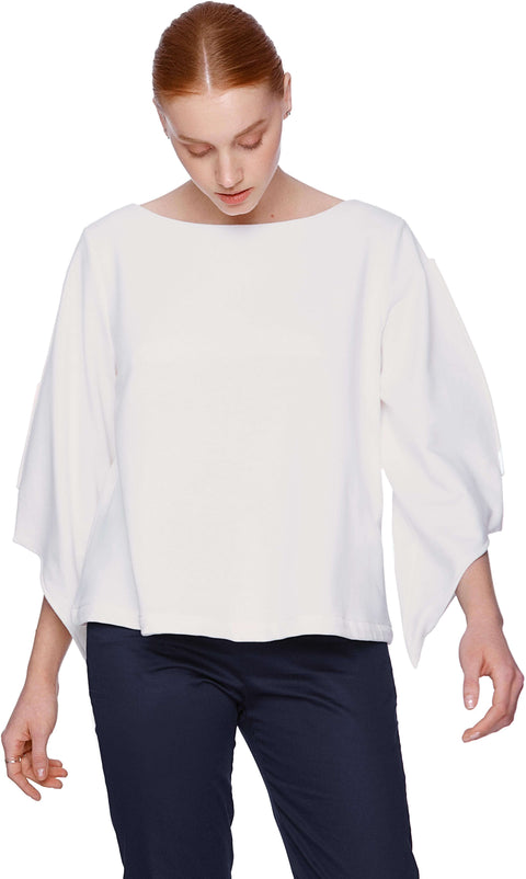 Pure Touché Wings Cropped Sweatshirt
