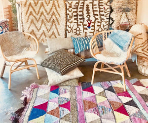 Moroccan Rugs, Vintage Textiles and Curated Goods