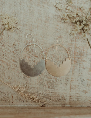 Ario Earrings/ Brass/ Large