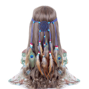 Bohemian Hippie Headband Dream Catcher