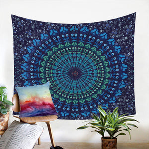 BeddingOutlet Indian Hippie Bohemia Tapestry Mandala Wall