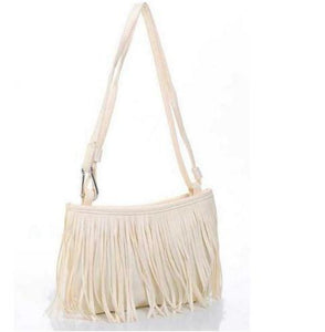 Handbags Women Shoulder Fringed Messenger Bag - Vintage Bohemian Bag