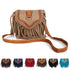 Bohemian bag Boho Free Spirit Tassel Cross Body Purse