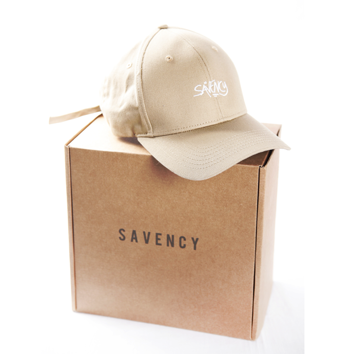 SAVENCY - Beige Baseball Cap