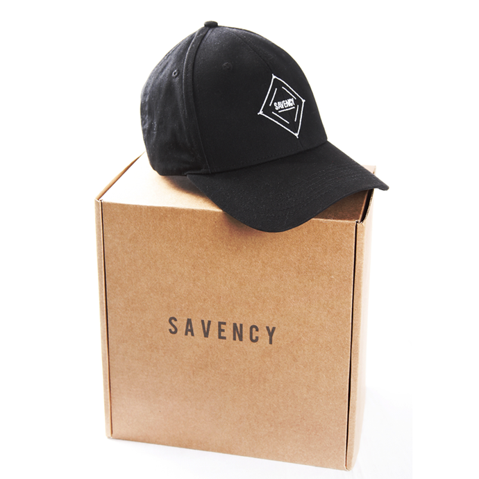 SAVENCY - Black Baseball Cap