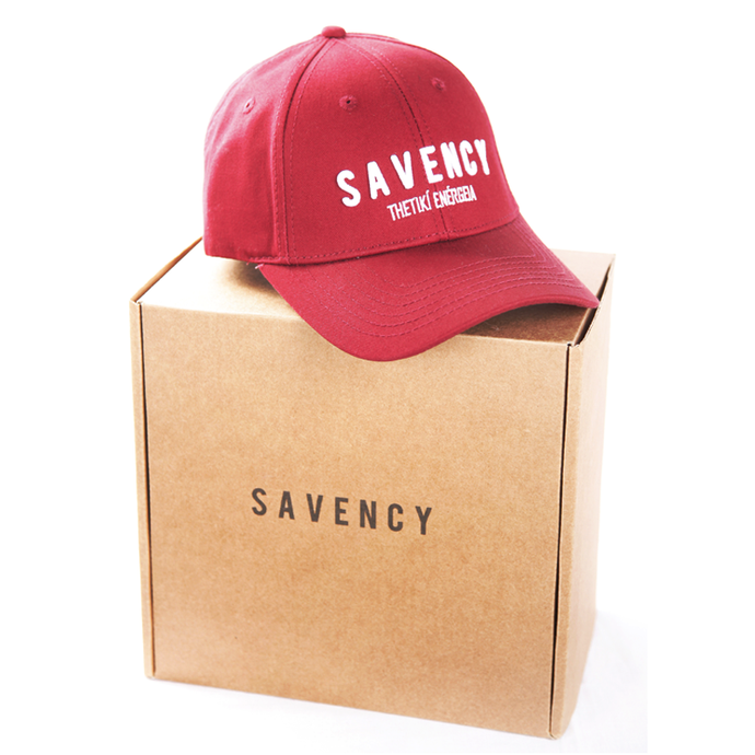SAVENCY - Red Baseball Cap