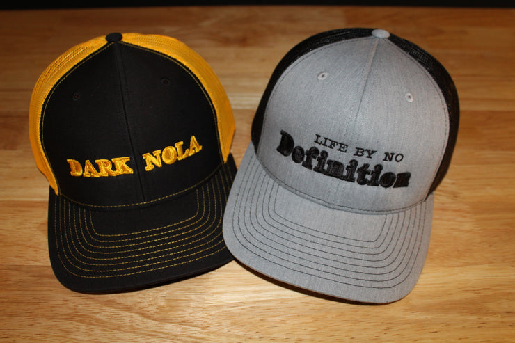 Dark Nola Snap Back Trucker Cap