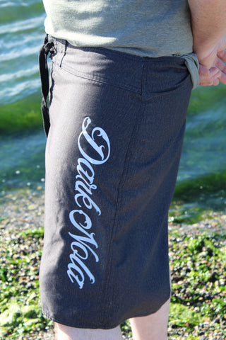 Dark Nola Unisex Heathered Board Shorts