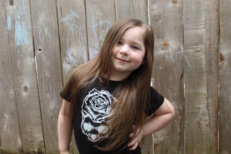 Beautiful Mind Girl's Princess Crew Tee