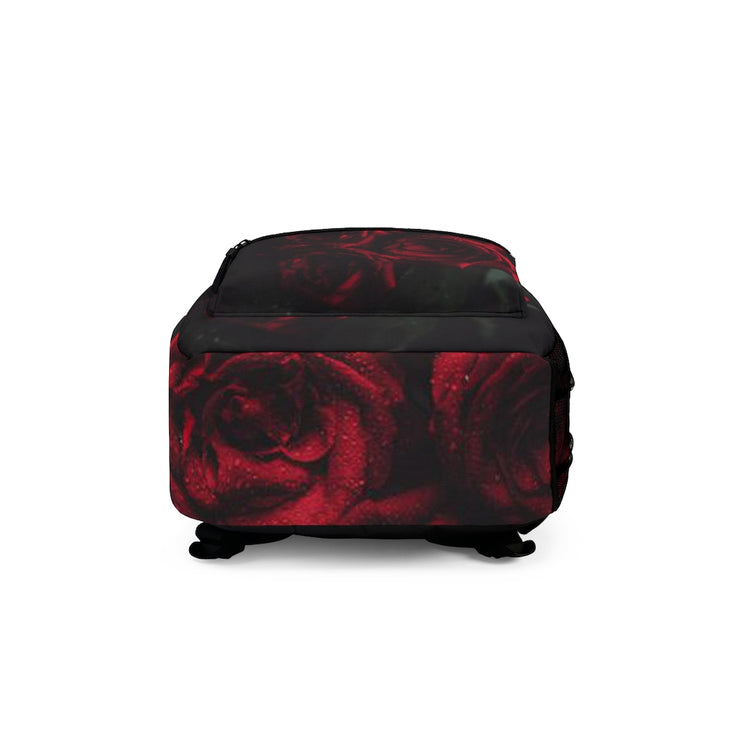Dark Nola Roses Backpack (Made in USA)