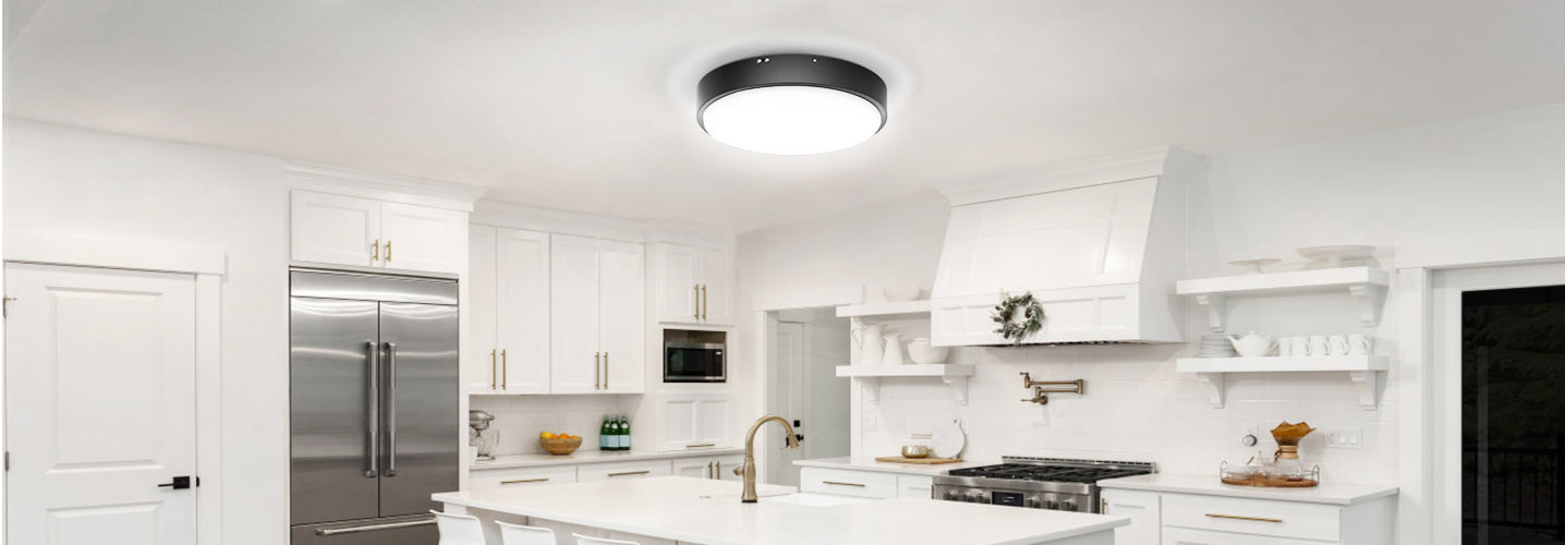 Olafus 32W Flush Mount LED Ceiling Lights Bring Surprises to Your Life