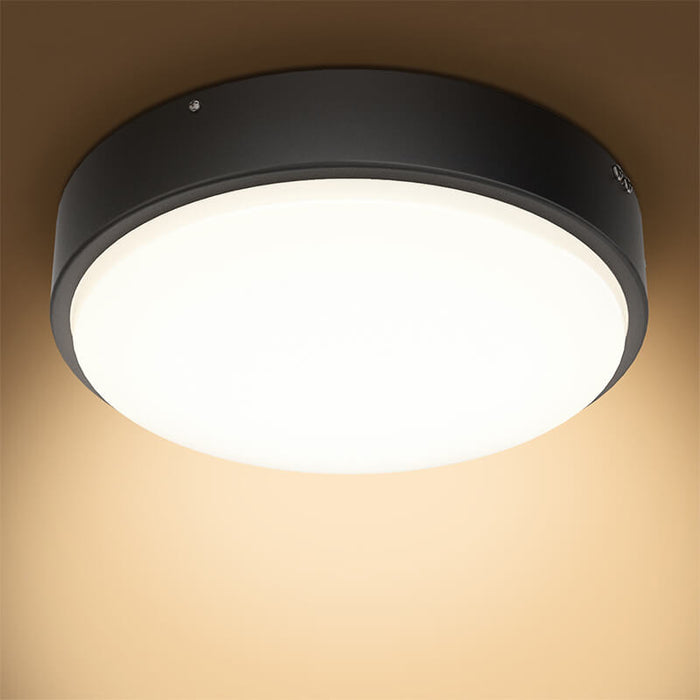 LED Ceiling Lights 32W Flush Mount 180W Equivalent 2800lm 2700K Warm White Ceiling Lighting Fixtures IP44 Waterproof for Closet, Kitchen, Bedroom, Bathroom