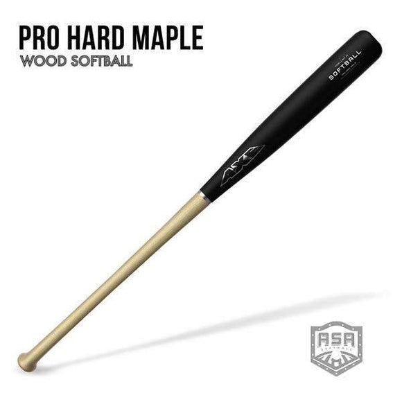 Pro Hard Maple Wood Softball Bat ASA
