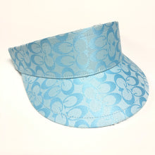 Load image into Gallery viewer, Vintage Bootleg Gucci Blue Visor Hat
