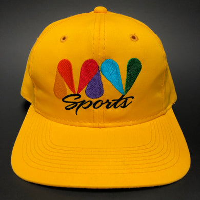 MV Sports Yellow Snapback Hat