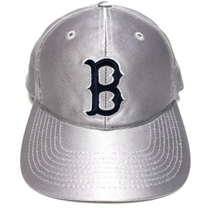 Vintage Boston Red Sox Silver PL Snapback Hat