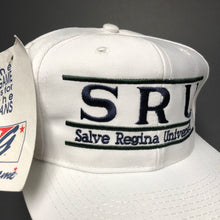 Load image into Gallery viewer, Vintage Salve Regina Split Bar Snapback Hat NWT