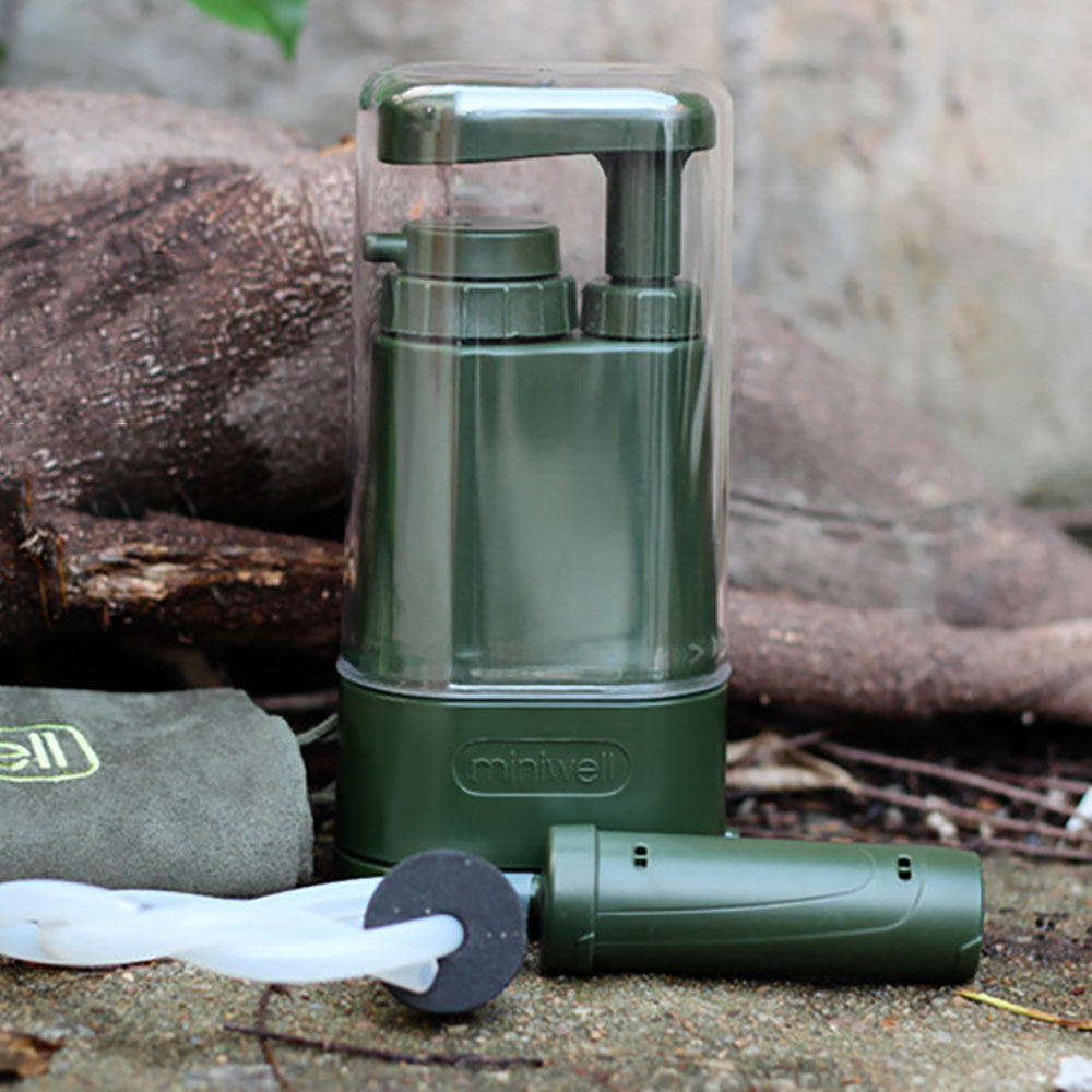 Virus and Heavy Metal Tested 0.01 Micron Water Filter for Camping Hiking and Emergency