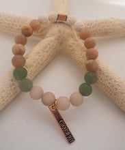 Load image into Gallery viewer, Green Aventurine & Pink Moonstone Bracelet  ~Desert Collection