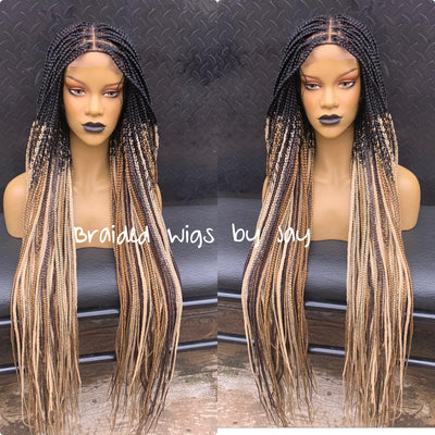 Knotless Royalty Braids Wig - Braided Wigs by Jay