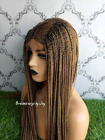 Mayowa Braids Wig - Braided Wigs by Jay