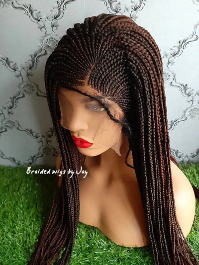 Chioma Braided Wig - Braided Wigs by Jay