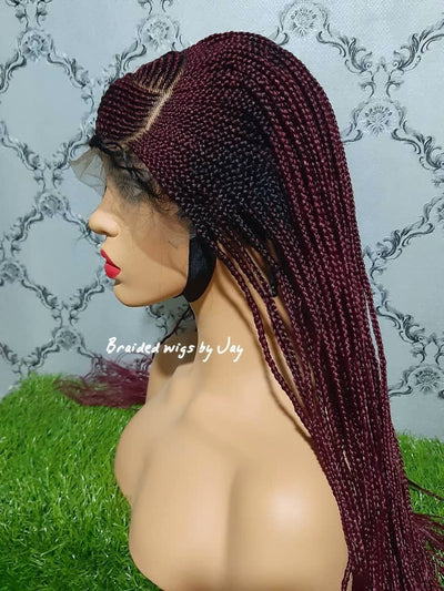 Braided Wigs by Jay- Adaora - Braided Wigs by Jay