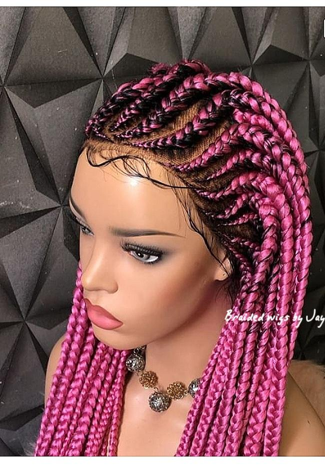 Sapphire Braids Wig - Braided Wigs by Jay
