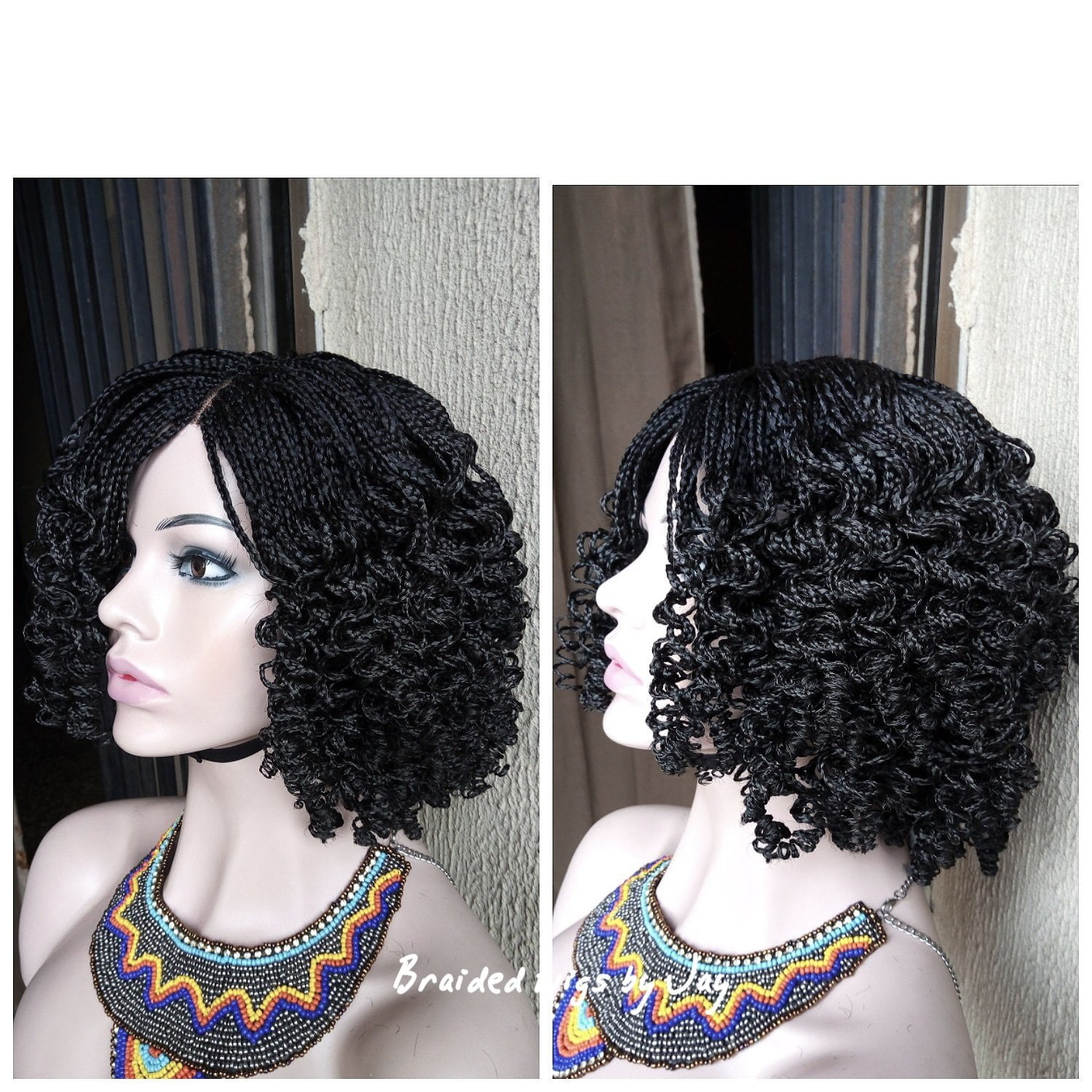 Talia Braided wig - Braided Wigs by Jay