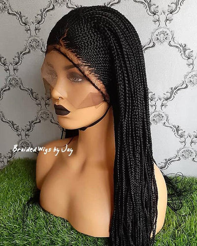 Kylie Braids Wig - Braided Wigs by Jay