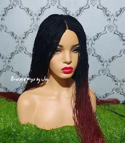 Kele Braided Wig - Braided Wigs by Jay