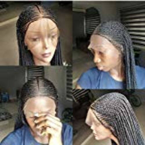 Ciara Braids Wig - Braided Wigs by Jay